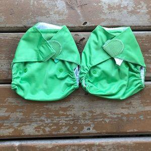 3/$30 - Tots Bots Bamboozle Stretchy Cloth Diaper Cover Lot